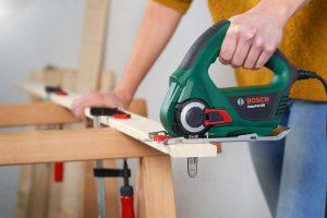 sierra electrica corte madera