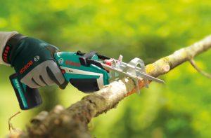 mejor sierra para podar árboles y ramas