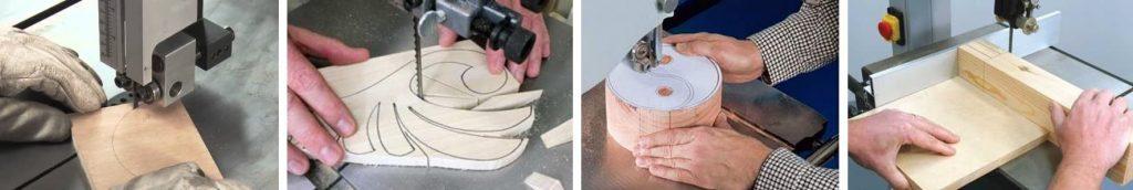 sierra para hacer cortes irregulares en madera