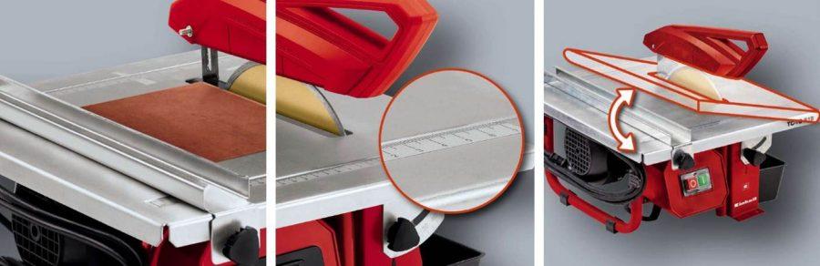 sierra de mesa para corte de ceramica