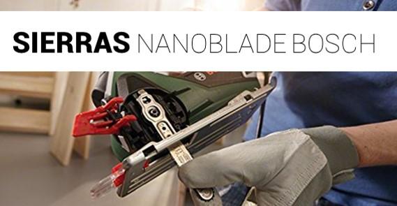 Sierras NanoBlade de Bosch