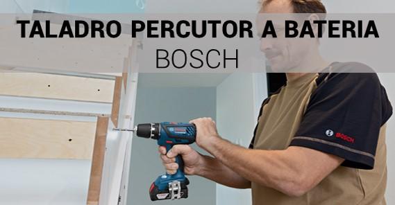 Taladro Percutor a Batería Bosch