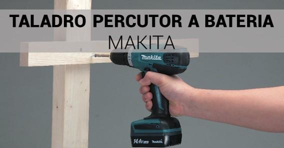 mejor taladro percutor a bateria makita