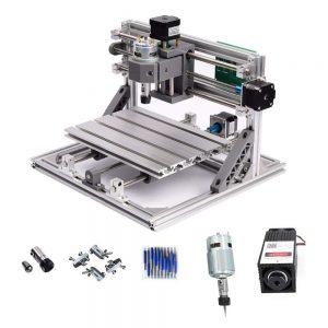 Fresadora CNC con Láser
