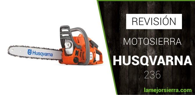 Motosierra Husqvarna 236