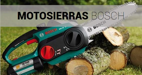 Motosierra Bosch
