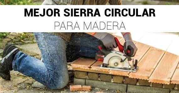 Sierra Circular Para Madera
