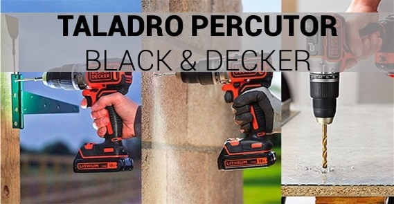 Taladro Percutor Black and Decker