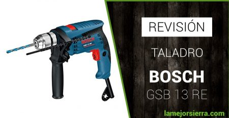 revision taladro bosch gsb 13 re