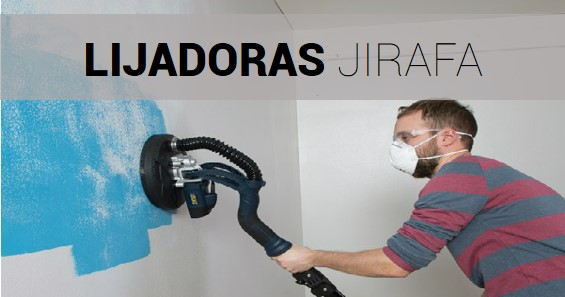 Lijadora de Pared - Jirafa