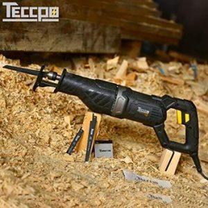 sierra de sable teccpo 1050w sierra de sable comoda y eficiente