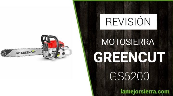 Motosierra Greencut GS6200