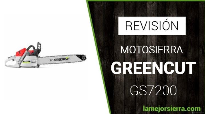 Motosierra Greencut GS7200