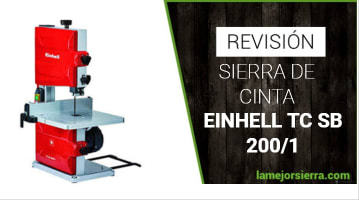 Sierra de Cinta Einhell TC SB 200/1
