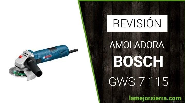 Amoladora Bosch GWS 7 115