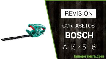 Cortasetos Bosch AHS 45-16