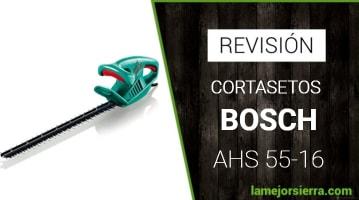 Cortasetos Bosch AHS 55-16