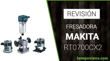 Fresadora Makita RT0700CX2J