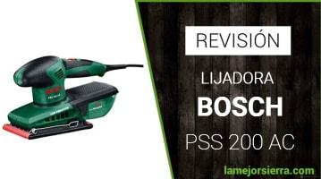 Lijadora Bosch PSS 200 AC