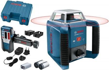Bosch Professional GRL 400 H - Nivel Profesional Rotativo Láser para Exteriores